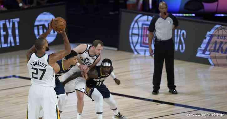 Rudy Gobert makes game-winning free throws for Utah Jazz in NBA restart
