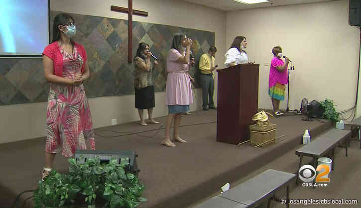 'Great Concern': LA County Warns Churches Could Face Fines For Indoor Services