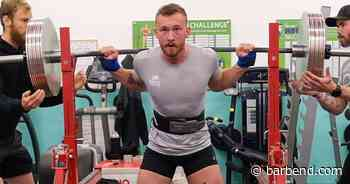 Fergus Crawley Ran a Sub 5 Minute Mile, Back Squatted 501lb, Ran a Marathon In The Same Day - BarBend