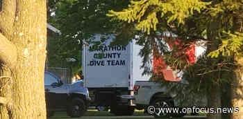 Marathon County Dive Team Dispatched - OnFocus