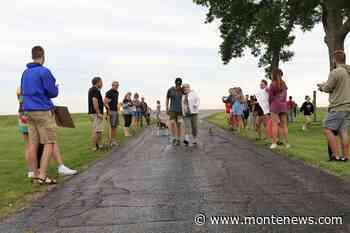 Spencer Quast completes marathon, raises funds for dementia society - Monte News
