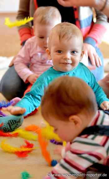 Musik-Garten für Babys: Musikgarten für Babys an der MuKs Karlsdorf-Neuthard - Karlsdorf-Neuthard - Wochenblatt-Reporter