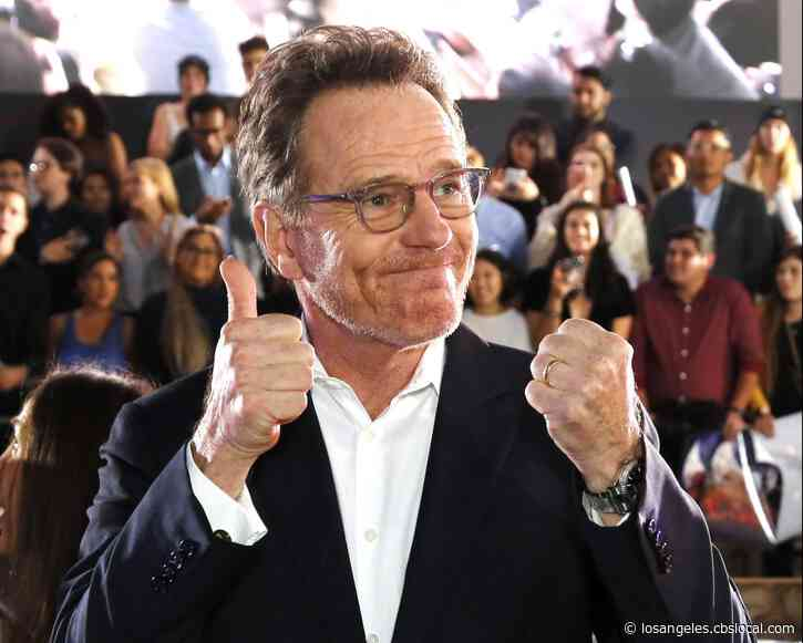 Bryan Cranston Donates Plasma After Recovering From COVID-19