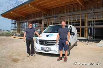 Wirtschaft: Firma aus Birkenwerder zieht in den Gewerbepark-Süd nach Oranienburg - Märkische Onlinezeitung