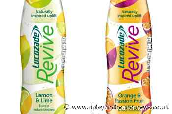 Lift your natural energy with a new drink from Lucozade - Ripley and Heanor News