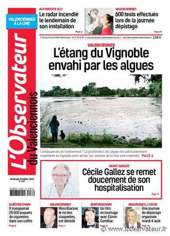 L'Observateur du Valenciennois (Valenciennes) du vendredi 31 juillet 2020 - L'Observateur