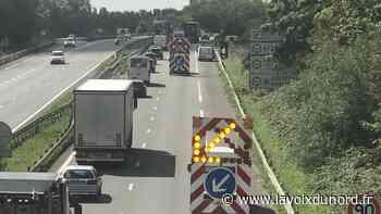 Valenciennes Nord: le radar de l'A23 incendié douze heures après son installation - La Voix du Nord