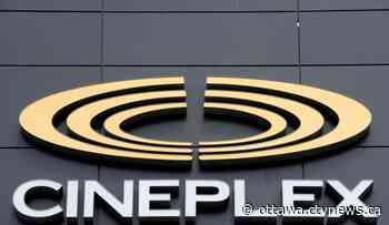 Cineplex reopening two Ottawa theatres on Friday - CTV News Ottawa