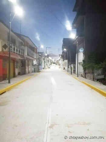 Concluye SOP rehabilitación integral de vialidad en Palenque - ChiapasHoy