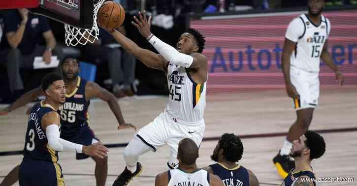 Rudy Gobert and Donovan Mitchell team up for final play that earns Utah Jazz a fitting win