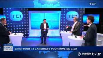 Suivez le débat du second tour à Rive de Gier - Elections Municipales Loire 2020 - TL7, Télévision loire 7 - tl7.fr