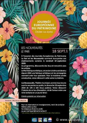 Visite guidée dédiée aux écoles Salle de spectacle Le Pari vendredi 18 septembre 2020 - Unidivers