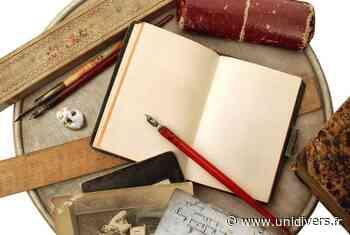 Atelier « cahier d'écolier et calligraphie » Hôtel du Département « Le Pradeau » samedi 19 septembre 2020 - Unidivers