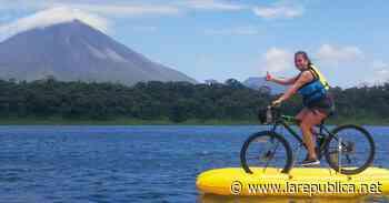 Familia emprendedora ofrece tours de bicicleta sobre el Lago del Arenal - Periódico La República (Costa Rica)