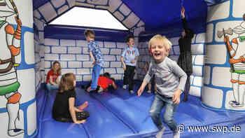 Sommerferien in Geislingen: Wasserspaß und Hüpfburgen im Notzental - SWP