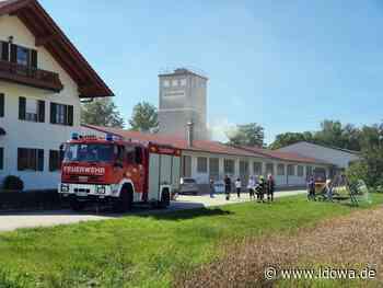 Reichersdorf: Hoher Schaden nach Brand in einer Schreinerei - idowa