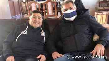 Vice de Gimnasia se vistió de delivery para ver a Maradona - Cadena 3