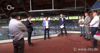 Weiden: Abgeordnete zu Besuch bei den Blue Devils - Oberpfalz TV