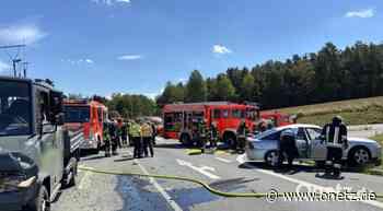 Schwerer Unfall an Trippacher Kreuzung: 68-jähriger Fahrer stirbt im Klinikum Weiden - Onetz.de