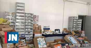 Rede de tráfico internacional de esteroides funcionava em casa do Montijo - Jornal de Notícias