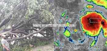 Fuertes vientos de la tormenta Isaías derriban en San José de Ocoa - Montecristi News