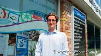 Au Petit-Quevilly, le patron de Polysign, PME spécialisée dans la signalétique, s'inquiète de l'avenir - Paris-Normandie