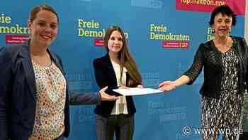 Olsberg: Schülerin will mit Projekt an Schulen Leben retten - Westfalenpost