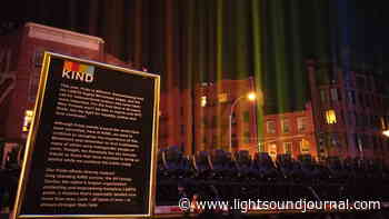Claypaky Mythos 2 Fixtures Create Rainbow in the Sky at the Stonewall Inn to Mark 50th Anniversary of the Pride Movement - The Light Sound Journal