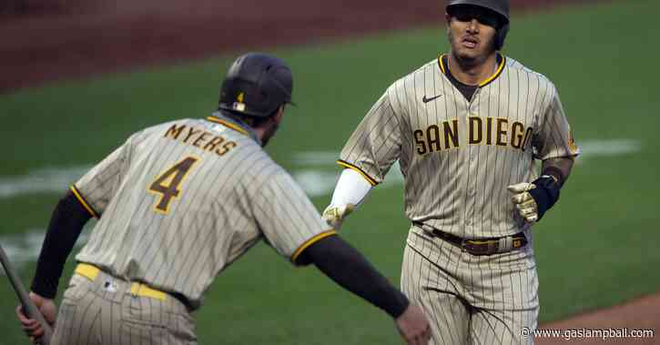 Padres outlast Giants 12-7 in re-vamped extra innings