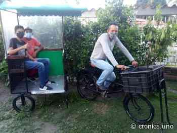 La bicitaxi en Cagua: de cómo Marcos Requena convirtió un carrito de comida rápida en un medio de transporte - Crónica Uno