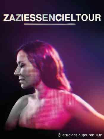 ZAZIE - ESSENCIEL TOUR - Theatre De La Mer De Sainte Maxime , Sainte Maxime, 83120 - Sortir à France - Le Parisien Etudiant