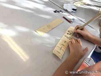 Les ateliers instantanés enfants « Avant la lettre, les hiéroglyphes » Musée Médard samedi 19 septembre 2020 - Unidivers