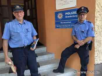 Polizei: Gregor Stiller folgt Wingolf Kirchner als Revierpolizist in Kremmen - Märkische Onlinezeitung