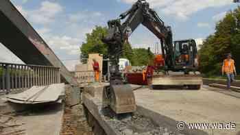 700.000 Euro für die Kanalbrücke: Das passiert auf der Baustelle - wa.de