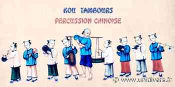 Kou Tambours, Percussions Chinoises Jardin des Senteurs samedi 5 septembre 2020 - Unidivers