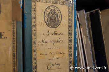 Visite libre « Les coulisses des archives » Archives communales de Versailles samedi 19 septembre 2020 - Unidivers