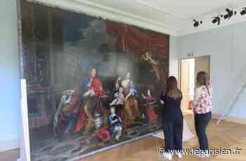 Le tableau oublié de Versailles retrouve la lumière - Le Parisien