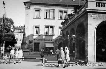 Stuttgart 1942: der Buchhändler Gengenbach - Hitlerbüsten im Schaufenster - Stuttgarter Nachrichten