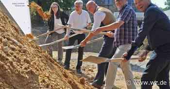 Velbert: Spatenstich markiert symbolischen Startschuss für das Hospiz - Westdeutsche Zeitung