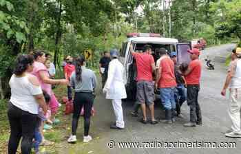 Accidente deja varios lesionados en Acoyapa | La Gente - Radio La Primerísima