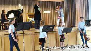 Baiersbronn: Beethoven gibt Interview bei Konzert - Baiersbronn - Schwarzwälder Bote
