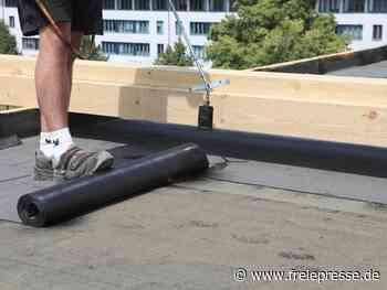 Haltbarkeit von Flachdächern verlängern - Freie Presse