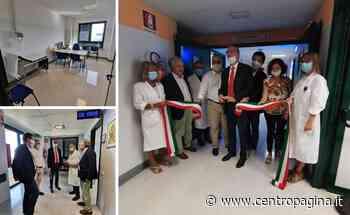 Inaugurato il nuovo reparto di allergologia a Civitanova Marche - Centropagina