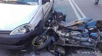 Scontro tra scooter e furgone a Finale Ligure: due feriti, uno è in codice rosso - IVG.it
