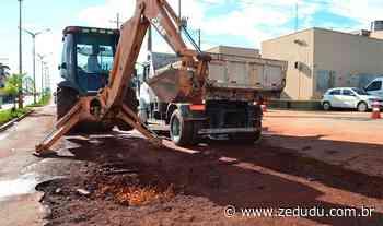 Prefeitura de Parauapebas fecha megacontratos para recuperar asfalto das ruas - Blog do Zé Dudu
