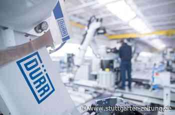 Corona-Krise bei der Firma aus Bietigheim-Bissingen - Dürr streicht 600 Arbeitsplätze - Stuttgarter Zeitung