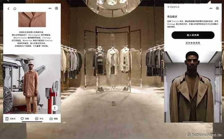 """Burberry eröffnet erstes """"soziales Luxusgeschäft"""" in China"""