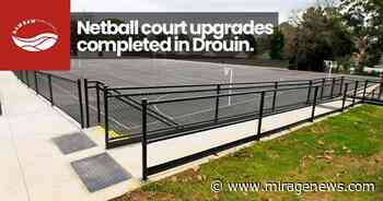 Netball court upgrades completed in Drouin - Mirage News