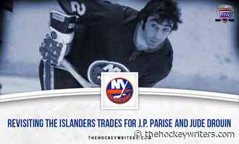 Revisiting the New York Islanders' JP Parise and Jude Drouin Trades - The Hockey Writers