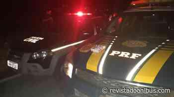 MG: PRF e Polícia Civil apreendem entorpecentes em ônibus em Juatuba - REVISTA DO ÔNIBUS